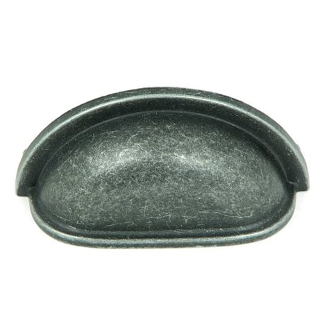 cabinet hardware cup pulls shop stone mill hardware 3 in center to center cup cabinet