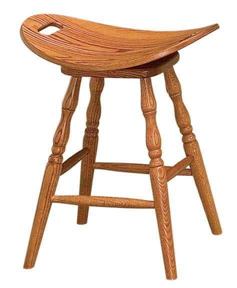 saddle bar stool stools amish oak swivel dining furniture barstool side browse amishdirectfurniture