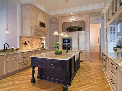 Kitchen Island Table Ideas And Options + Hgtv Pictures  Hgtv