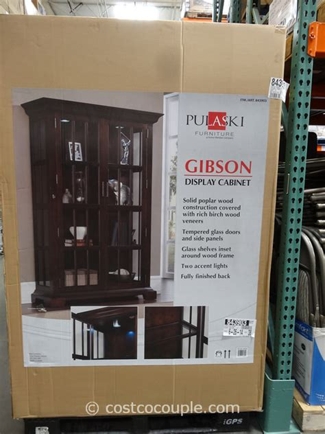 Pulaski Furniture Glass Display Cabinet by Pulaski Furniture Gibson Glass Display Cabinet