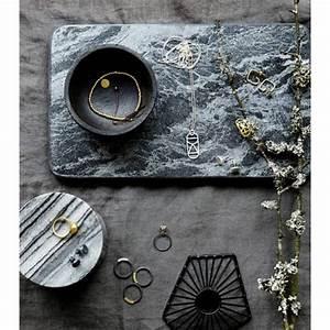 Planche À Découper Marbre : planche a decouper marbre noir house doctor ~ Melissatoandfro.com Idées de Décoration