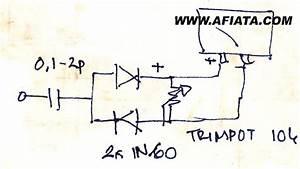 Simple Swr Power Meter Circuit Using 1n60