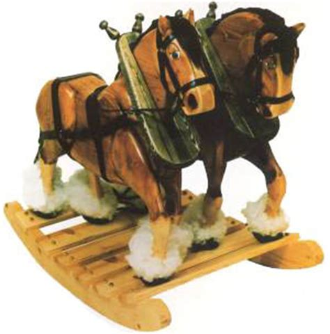 rocking horse wooden plans   build  amazing diy woodworking projects wood work