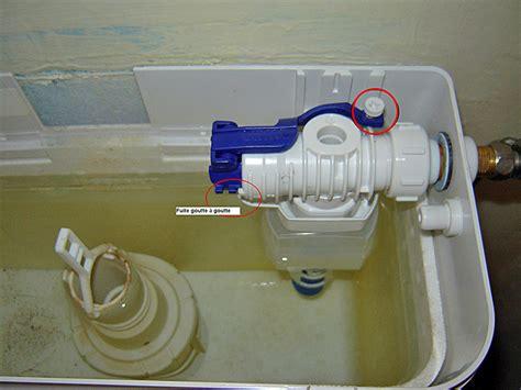 comment reparer un wc suspendu qui fuit