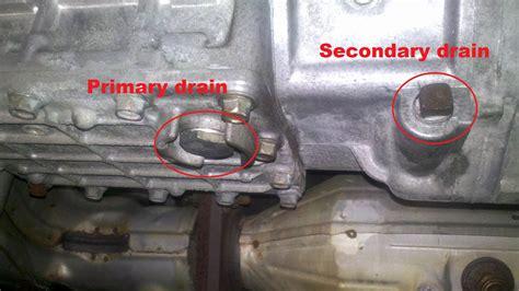 diy gearbox oil change  speed mt