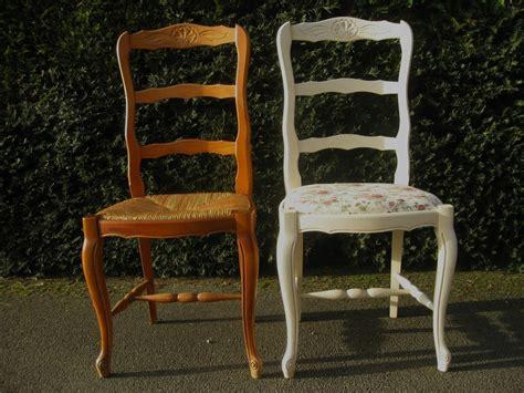 recouvrir une chaise en paille comment peindre une chaise en paille