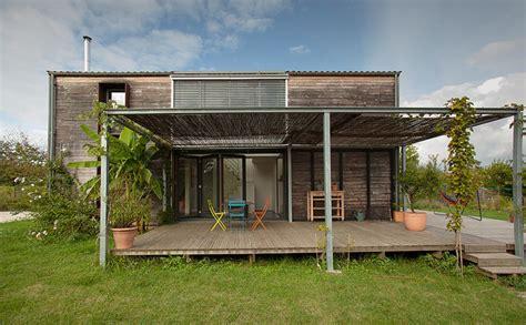 plan maison bois plain pied 4 chambres maison passive top maison
