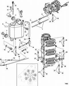Mercury Marine 200 Hp Pro Xs  Dfi  3 0l Oiling System 200