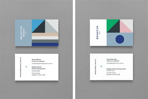 New Logo & Brand Identity For Brighton Elc By Studio Brave Business Card Back Design Wallpaper Photo Cards Made Near Me Amazon Canva Kl Clip Art