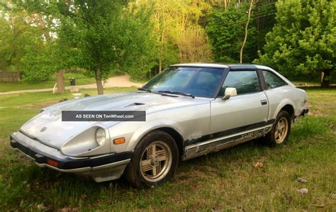 Datsun 280zx 1983 by 1983 Nissan Datsun 280zx Turbo 2 2 2 Door 2 8l