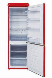 Kühlschrank Gefrierkombination Klein : respekta retro k hlschrank k hl gerfrier kombination 190 cm rot ebay ~ Eleganceandgraceweddings.com Haus und Dekorationen