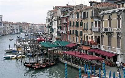 Venice Italian Landmarks Buildings Italy Wallpapers Veneza