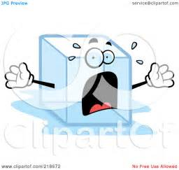 Ice Cube Melting Clip Art