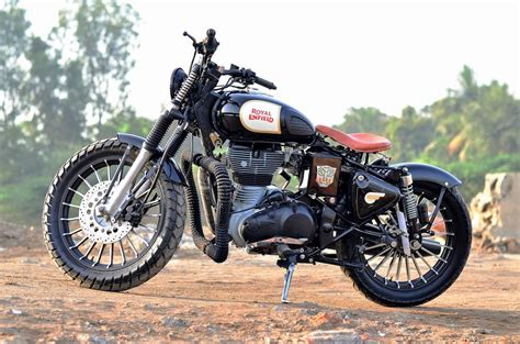 Modification Royal Enfield Bullet 350 by This Modified Royal Enfield Classic 500 By Singh Customs