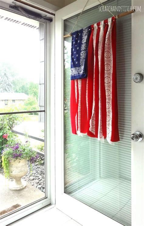 american flag front door decor diy projects