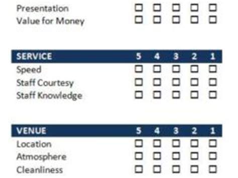 guest feedback form for restaurant form archives freewordtemplates net