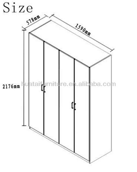 4 door wooden wardrobe cheap wood wardrobe hotel furniture