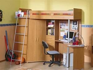 Jugendzimmer Mit Schrankbett : etagenbett jugendzimmer set mit leiter links erle 395 95 ~ Indierocktalk.com Haus und Dekorationen