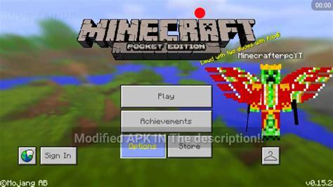 minecraft pe  skin  wings  mods