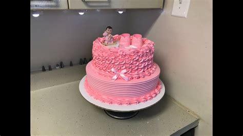pasteles de baby shower decorando hermoso pastel de baby shower para ni 241 a