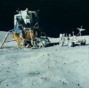 Image of the Apollo 16 Lunar Module /ALSEP spacecraft