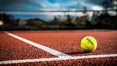 Tennis Ball Wallpapers Court Tenis Blurred Sfondi