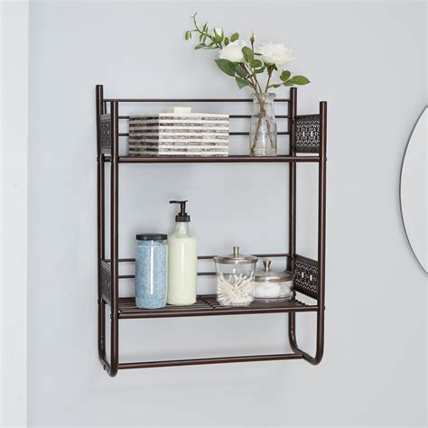 Glass Wall Shelves For Bathroom by Oaks Magnolia Bathroom Collection Wall Shelf