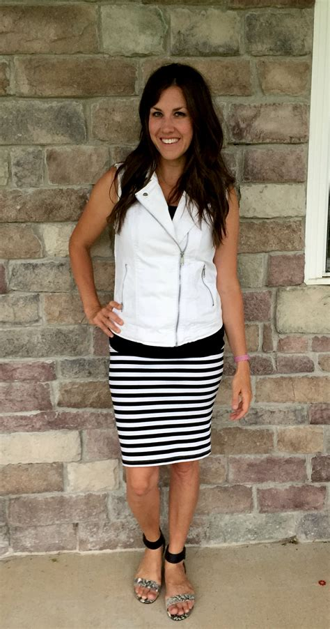 What I Wore Real Mom Style Black And White Realmomstyle