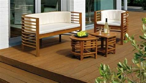 modern outdoor furniture creating small outdoor