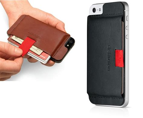 iphone wallet wally turns your iphone into a handsome leather wallet