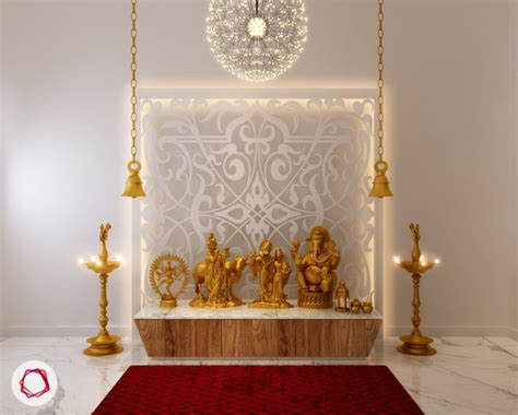 Home Temple Interior Design by 8 Mandir Designs For Contemporary Indian Homes