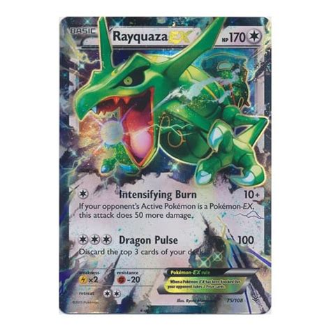 Rayquaza Ex Deck Roaring Skies by Xy Roaring Skies 075 108 Rayquaza Ex From Magic
