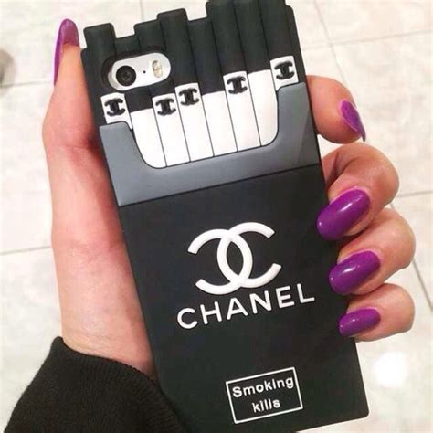 chanel iphone 5s coque iphone 6 6plus 5s chanel cigarette style original