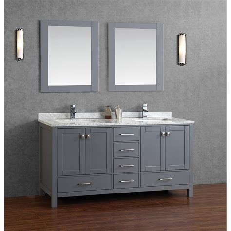 buy vincent   solid wood double bathroom vanity