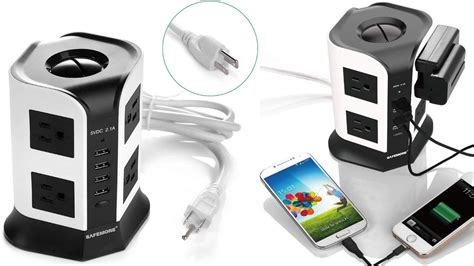surge protector power strip smart pc protectors safemore gaming