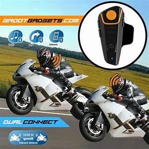 BT S2 Helmet Intercom Motorcycle Bluetooth Headset   GROOT
