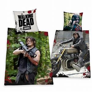 The Walking Dead Bettwäsche : bettw sche herding the walking dead daryl sondermodell 135x200 cm geschenk neu ebay ~ Eleganceandgraceweddings.com Haus und Dekorationen