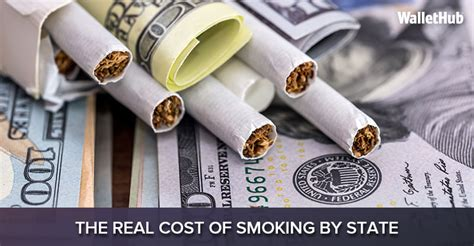 real cost  smoking  state