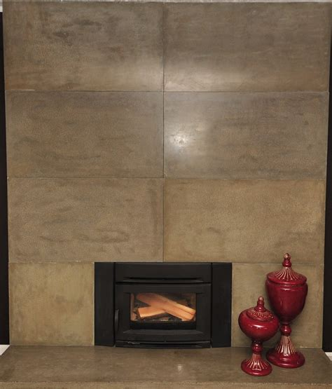 mode concrete easily update and modernize your fireplace