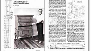 A Small Highboy - FineWoodworking