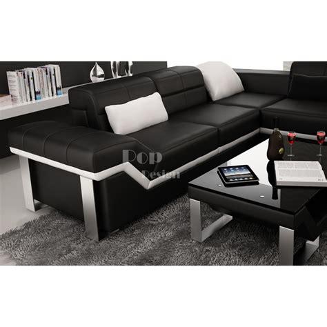 canape d angle xl canapé d 39 angle cuir panoramique design torino xl pop