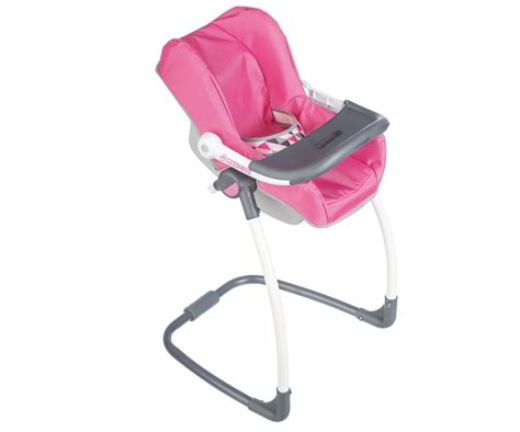 chaise haute et transat mc q highchair cosy maxi cosy quinny doll