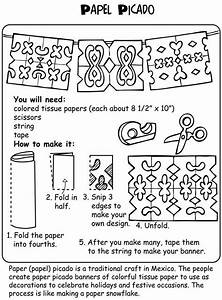 25 best ideas about mexico crafts on pinterest mexican With papel picado template for kids