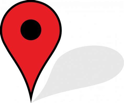 bureau 3 places illustrator shadow icon pin map photo free