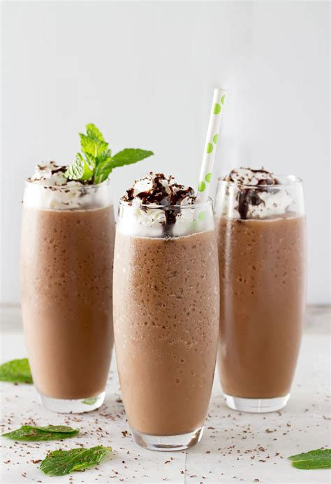 A frappe can be prepared very easily and quickly with a few common ingredients. Copycat Mocha Frappe - The Chunky Chef