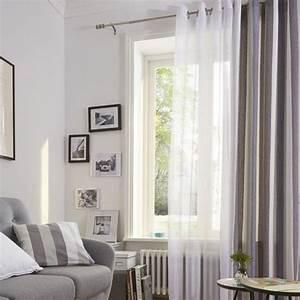 Rideaux à Poser Sur Fenêtres : rideaux voilages castorama voilages fenetres salon linder ~ Premium-room.com Idées de Décoration