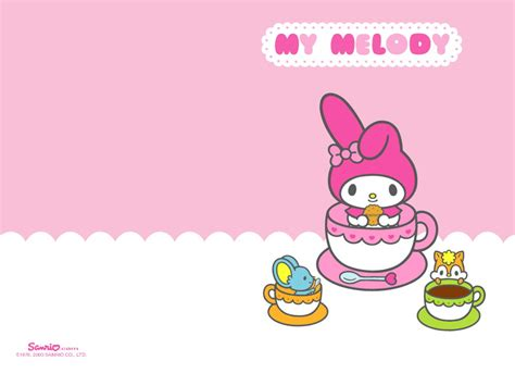 My Background My Melody My Melody S Wallpaper 20081002