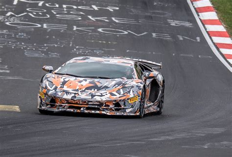 lamborghini aventador svj breaks nurburgring lap record
