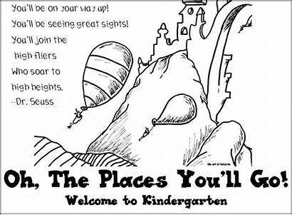 Oh Coloring Places Seuss Ll Dr Pages