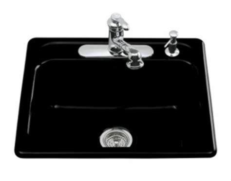 kohler black kitchen sink kohler k 5964 4 7 mayfield self kitchen sink with 6679